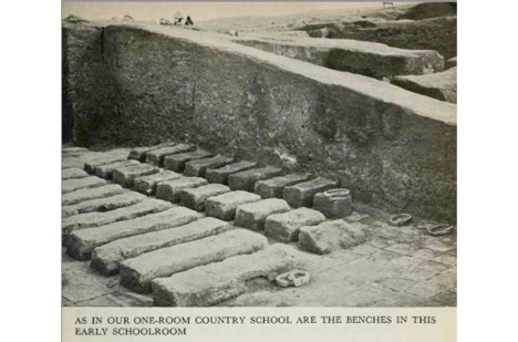 Sumerian schoolroom