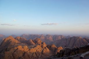 The view from Mount Sinai