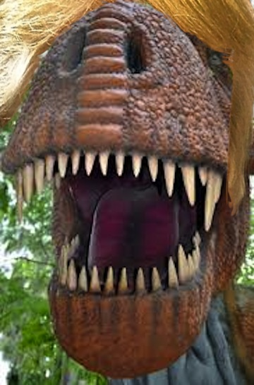 Trumposaurus mouth