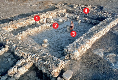 Four room home Ancient Israel