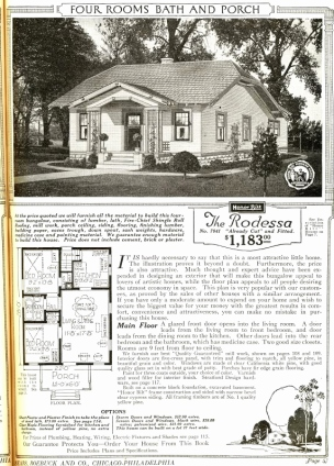 Sears four-room house